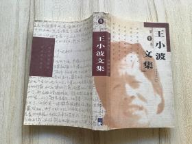 王小波文集  第1卷【99年一版一印】