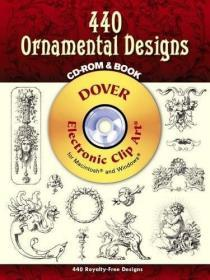 440 Ornamental Designs Cd-rom And Book