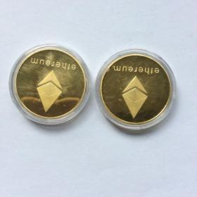 ETH币(金色)