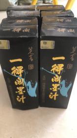 2015年一得阁墨汁8瓶合售每瓶500克