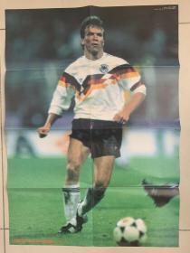 2开日本足球海报,1990马特乌斯