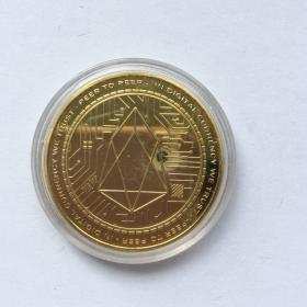 EOS币(金色)