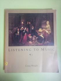 英文原版 LISTENING TO MUSIC