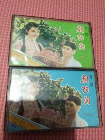 豫剧,朝阳沟(磁带),(一),(二)两盒有歌词。