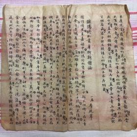 清代光绪初年:八股文手写卷一页《欧阳修抑新体论》不全