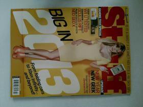 Stuff (magazine) 02/2013 NO.167 英国消费电子杂数码设计杂志外文杂志