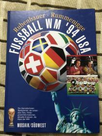 原版足球画册 1994世界杯特刊 莫塞克版