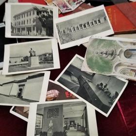 老画片八张,其中上海鲁迅纪念馆4张