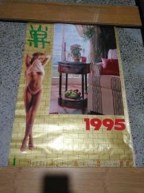 1995年外国美女明星家居挂历