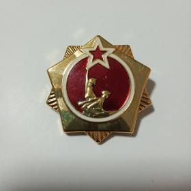 自卫还击保卫边疆纪念章  云南省革委会1979