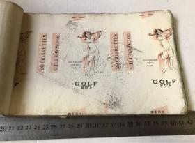民国上海老烟标一册