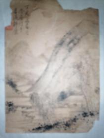 晚清湖州藏书家书画家潜庵(陆心源)山水相册页