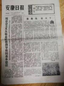 《安康日报》1975年1月31日(8开4版)