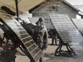 我内蒙古边疆某部使用太阳能设备照片