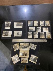 五十年代初北京钢铁学校的同学们合影老照片42张  生活照毕业照游颐和园照逛天安门等等