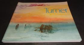 2手英文 Turner Watercolours David Blayney Brown 透纳水彩 sfd88