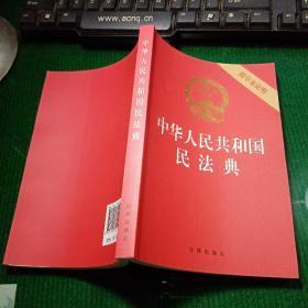 中华人民共和国民法典(附草案说明)32开压纹烫金2020年