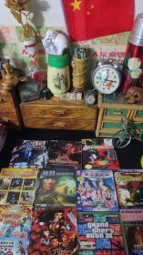 花木兰反恐电脑游戏光盘11张合售。