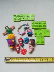一堆小玩具
