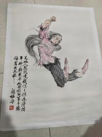 上海著名画家颜梅华作品