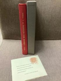 A Passion for Books(劳伦斯·克拉克·鲍威尔《为书燃情》,限印本非卖品,保留出版社负责人Zevin夫妇贺年卡,精彩书话,布脊精装,毛边,1958年美国初版)
