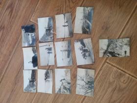 民国老照片十三张张39年和40年摄于山东烟台的老照片