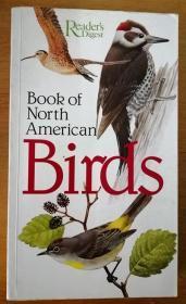 Book of North American Birds 北美鸟类之书(1990年英文原版书,16开铜版纸彩印,近500中鸟类图片、介绍,一页一图一文,精美)