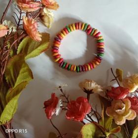 彩色木质手串
