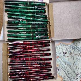 中沪209英雄钢笔一盒10支(未用)(两种色)