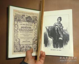 1906年CHARLES DICKENS :Martin Chuzzlewit _ 狄更斯《马丁•翟述伟》雕版版画插图 品佳 增补精美插图