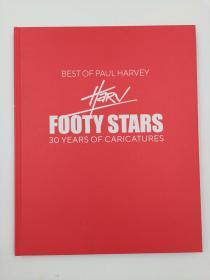 Best of Paul Harvey Footy Stars: 30 Years of Caricatures