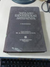 ЗАПАДНО-ЕВРОПЕЙСКАЯ ЛИТЕРАТУРА  西欧文学