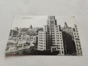 上海商业中心 老明信片照片 战前明信片 日本原版明信片