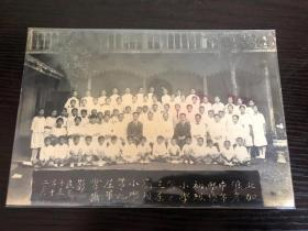 民国十五年老照片北加浪岸学校毕业照