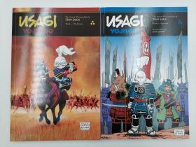 Usagi Yojimbo Book 1+2