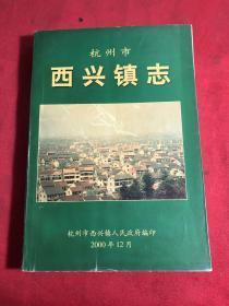杭州市西兴镇志