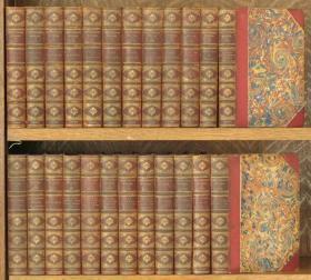 收藏版《萨克雷作品集》24卷全, 插图版,1879年伦敦出版