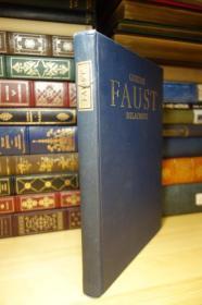 歌德的浮士德 Faust : A Tragedy . Heritage Press版  精装大本 Eugene Delacroix 插画
