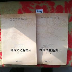 河南文化地理(上下册合售)