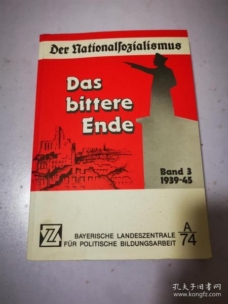 Das bittere Ende 痛苦的结局 德文原版