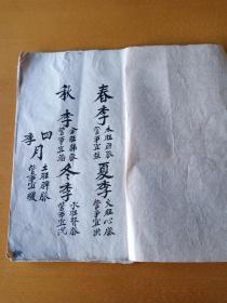 手抄本老医书(民国)12页