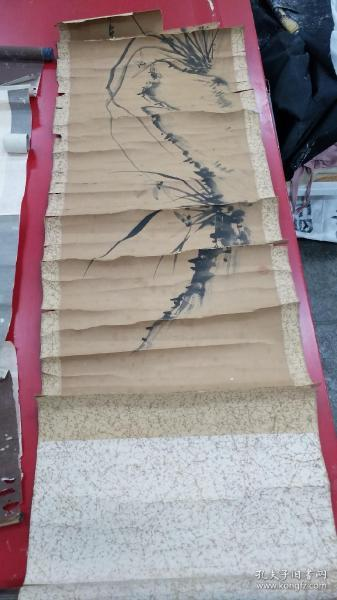 日本回流花卉天杆无可修复手绘