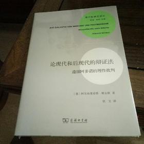 现代性研究译丛:   论现代和后现代的辩证法:遵循阿多诺的理性批判