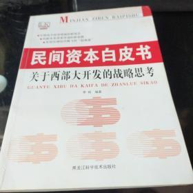 民间资本白皮书:关于西部大开发的战略思考