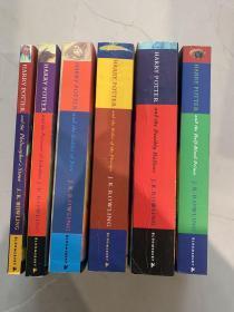 HARRY POTTER 哈利波特 英文版 6本合售 详情见图