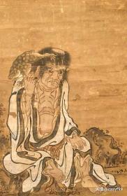 刘海戏金蟾  约江户前期
