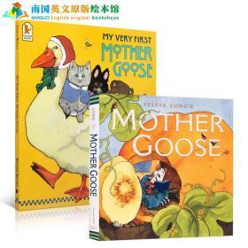 英文原版My Very First Mother Goose鹅妈妈童谣廖彩杏绘本送音频