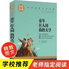 名家名译世界经典文学名著—童年 在人间 我的大学