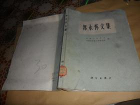 郭永怀文集  (16开 原版现货)1982年一版一印