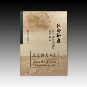 新郑赵庄旧石器时代遗址发掘报告